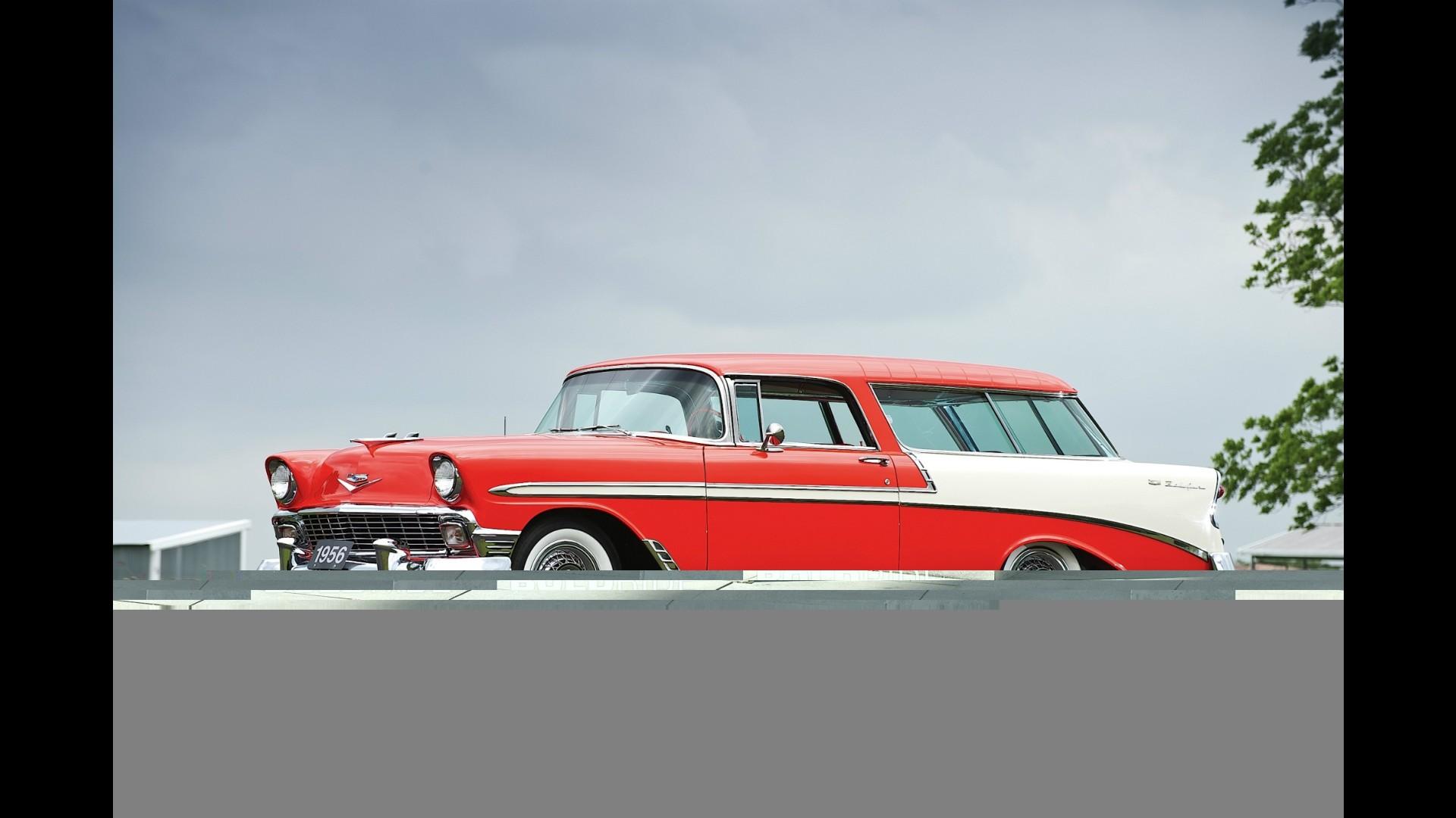 Chevrolet Bel Air Nomad Station Wagon