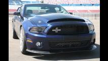 Revelado o novo Ford Mustang Shelby GT 500 Super Snake (Cobra) 2010 - Veja fotos