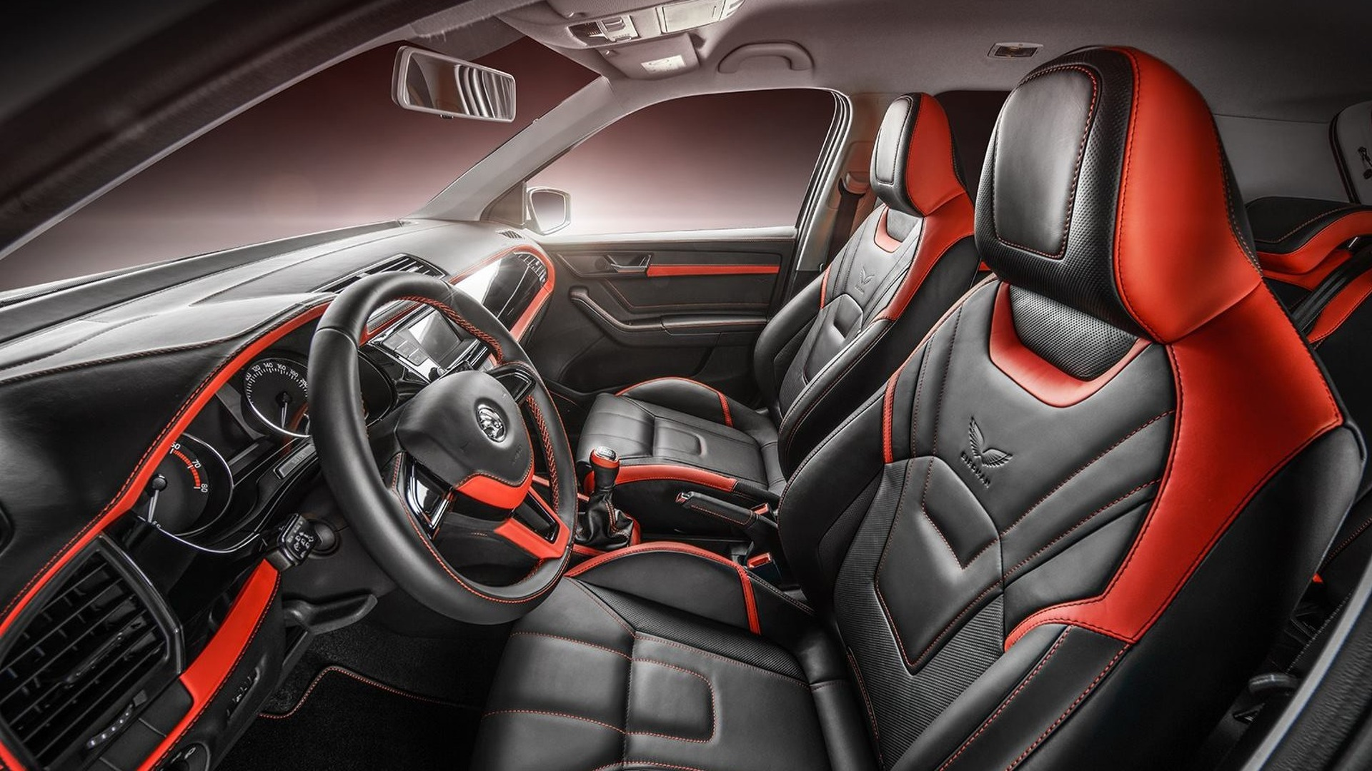 Is this the nicest Skoda Fabia interior in existence?