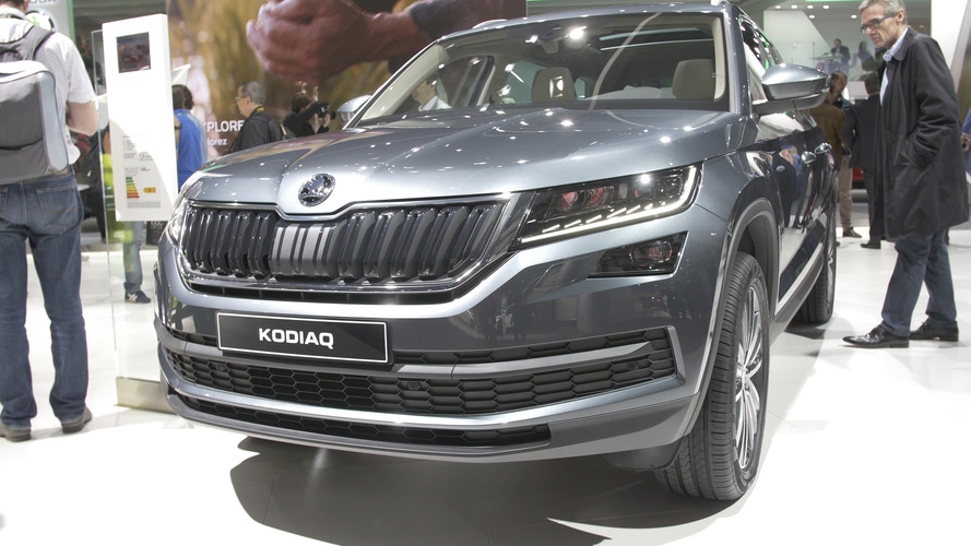 Video: Skoda Kodiaq at the Paris Motor Show