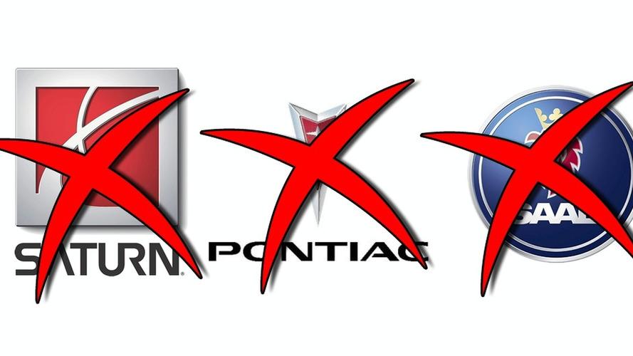Saab, Saturn & Pontiac Brands Face the Chopping Block