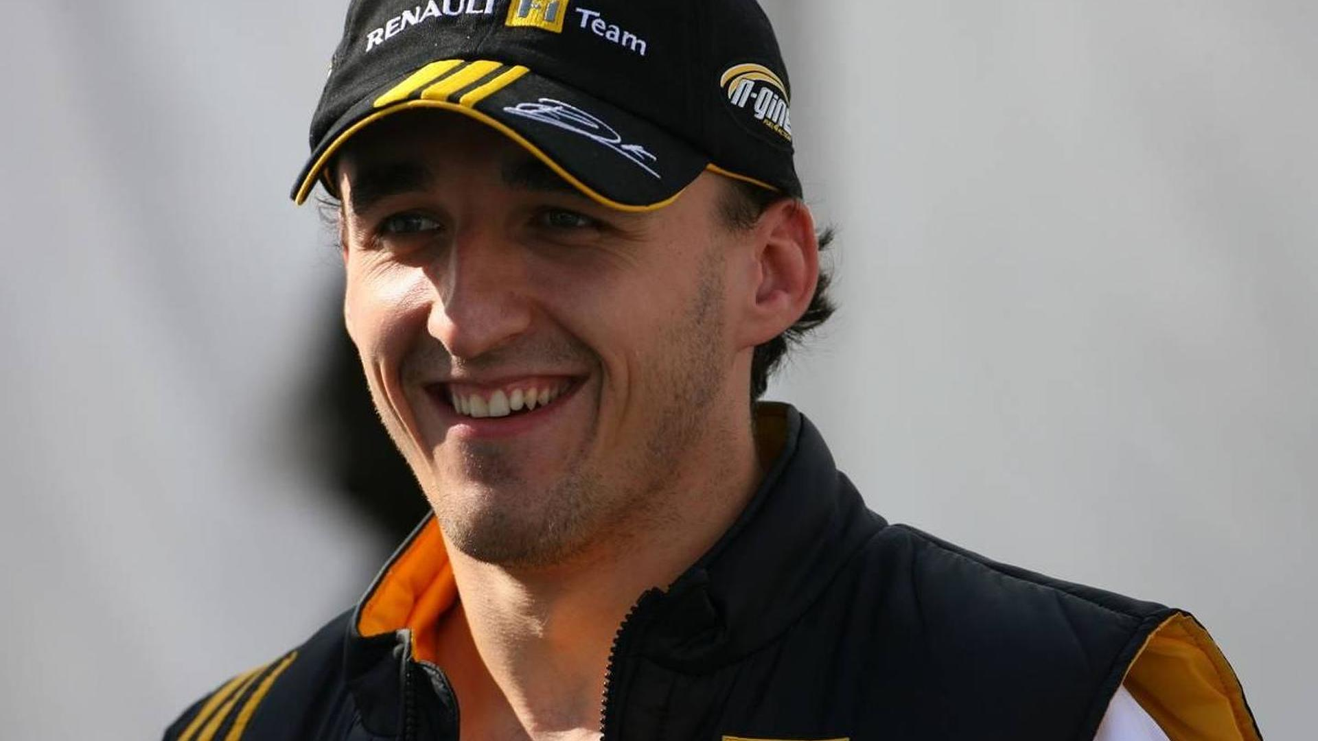 Kubica set to stay at Renault in 2011