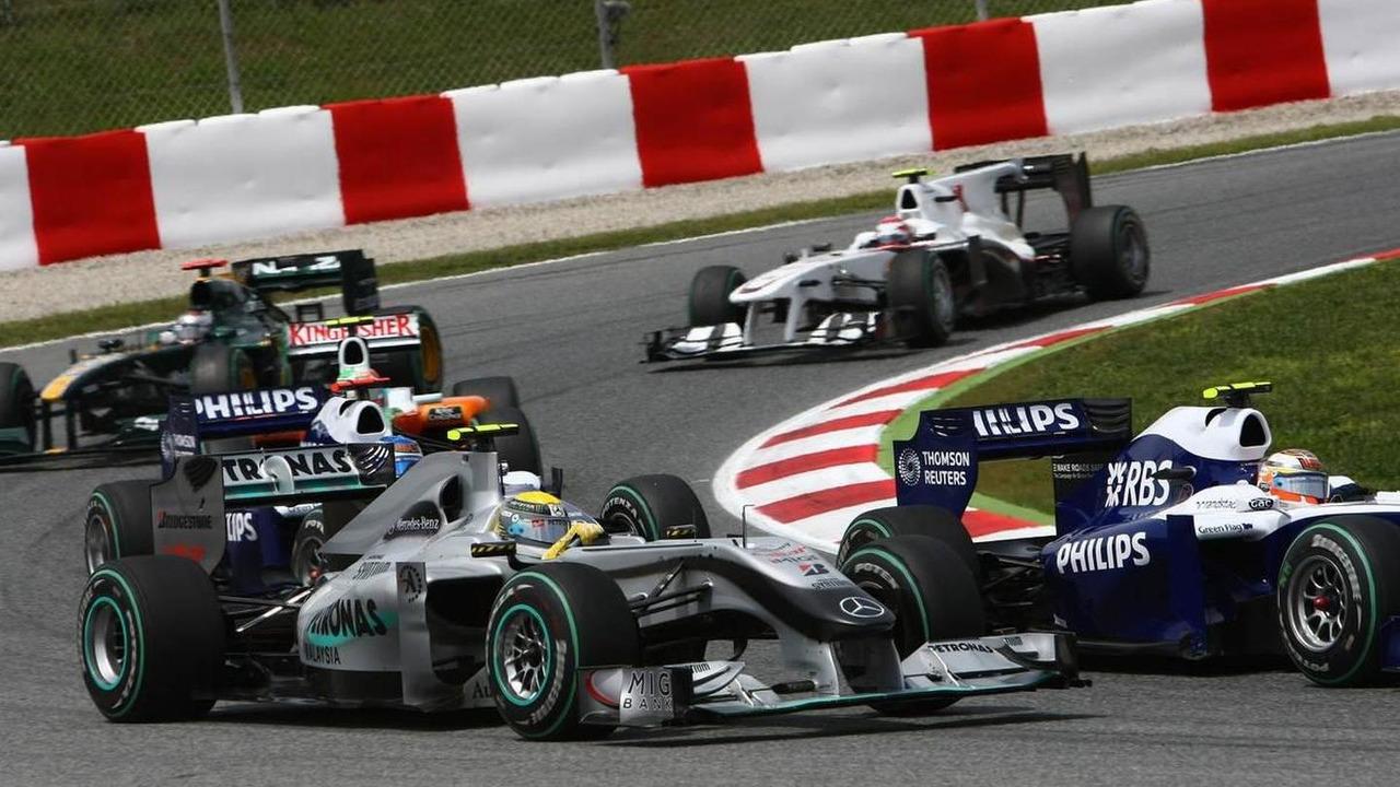 Nico Rosberg (GER), Mercedes GP Petronas, Spanish Grand Prix, 09.05.2010 Barcelona, Spain