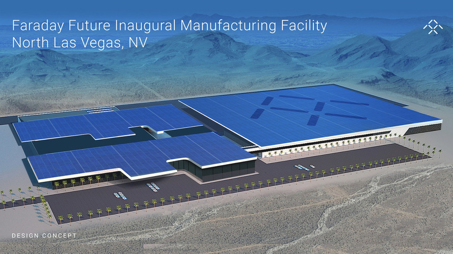 Faraday Future plans to open $1 billion plant in Nevada