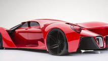 Ferrari F80 Concept rendering / Adriano Raeli