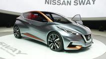 Nissan Sway concept at 2015 Geneva Motor Show