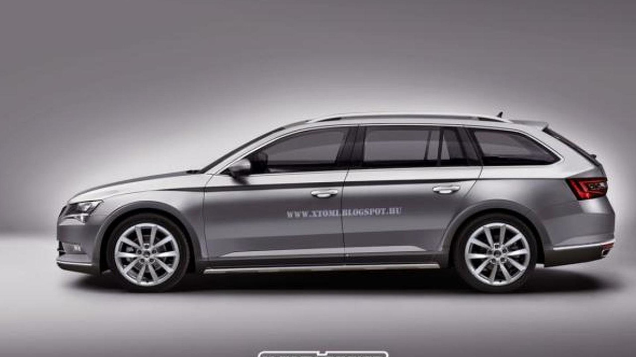 skoda superb scout reportedly in the works. Black Bedroom Furniture Sets. Home Design Ideas