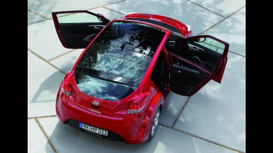 Hyundai lançará em breve Veloster com carroceria de cinco portas