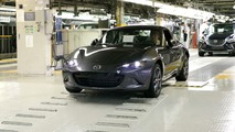 2017 Mazda MX-5 RF production starts