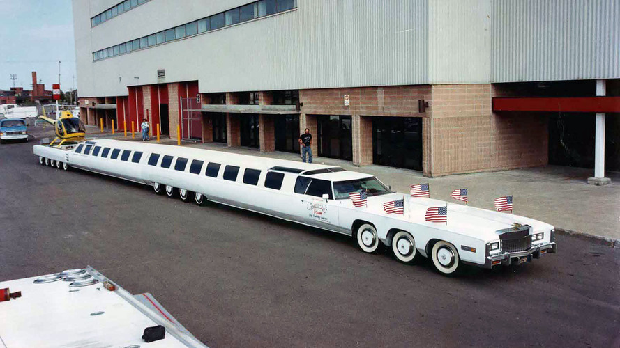 The longest car in the world is a sight to behold
