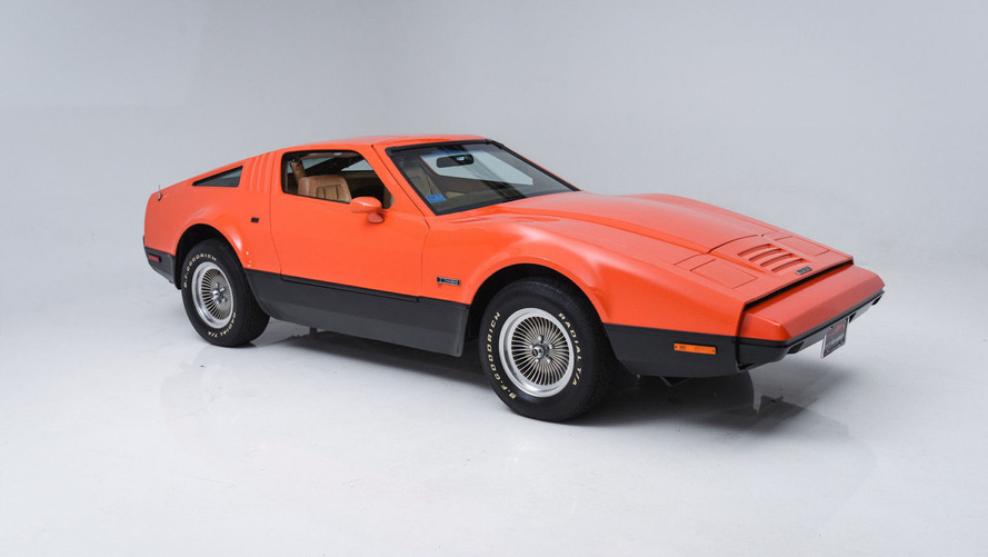 Pristine example of Canada's Bricklin sports car is for sale