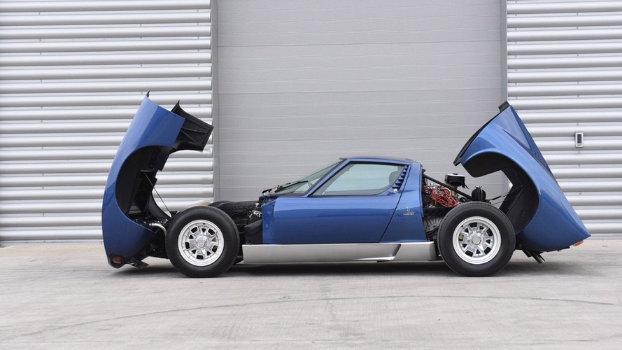 Ex-Rod Stewart Lamborghini Miura could fetch $1.1M at auction