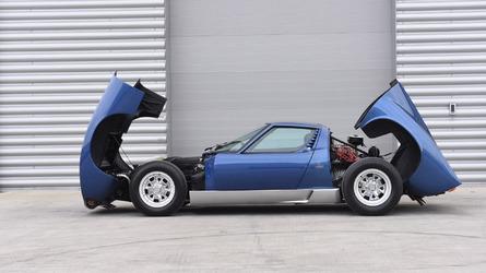 Ex-Rod Stewart Lamborghini Miura exceeds expected price at auction