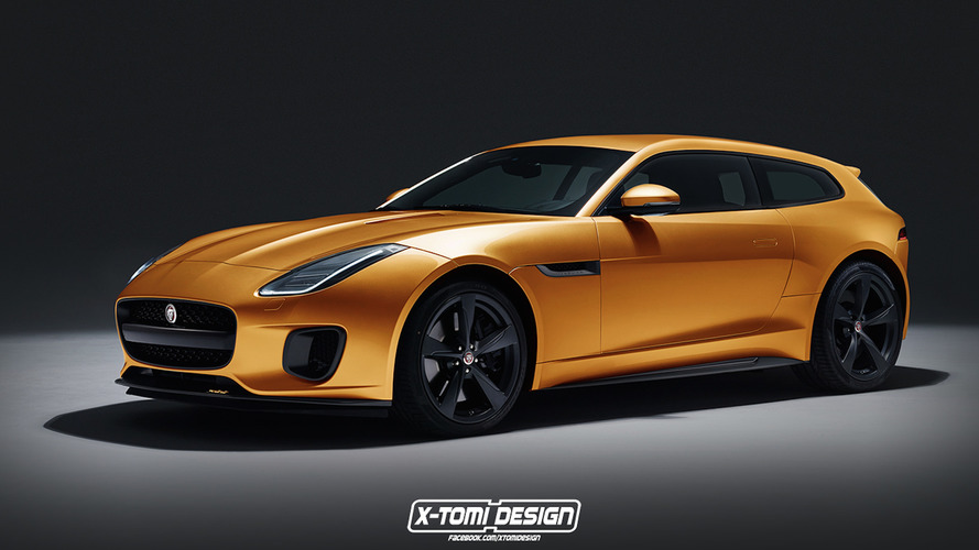 Jaguar F-Type 400, shooting brake olursa