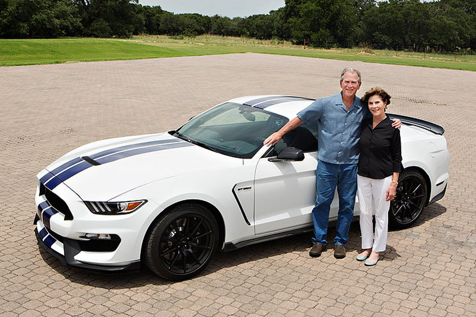 Ford Motor Company Linkedin >> Jay Leno Will Auction Off a Shelby GT350 Signed by George W. Bush