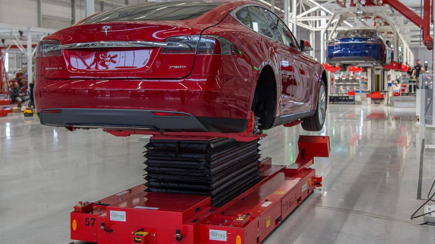 First European Tesla factory opens in the Netherlands