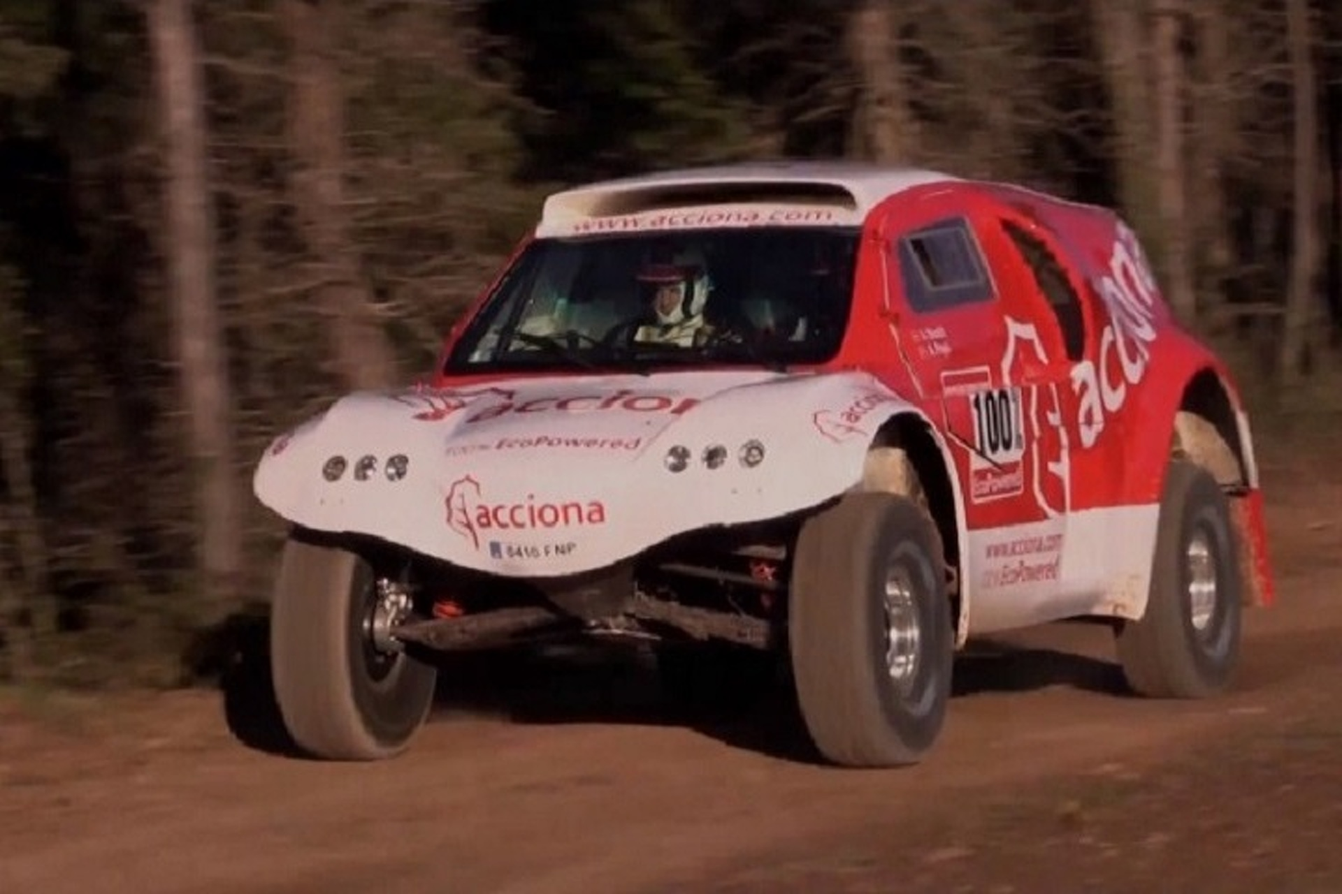 Watch Dakar's First All-Electric Racer in Action
