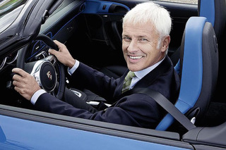 Volkswagen Will Name Porsche Head as New CEO, U.S. Boss Steps Down