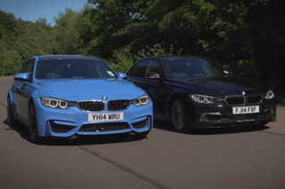 BMW M3 Takes On Alpina D3 Diesel — But Which is Better? [Video]