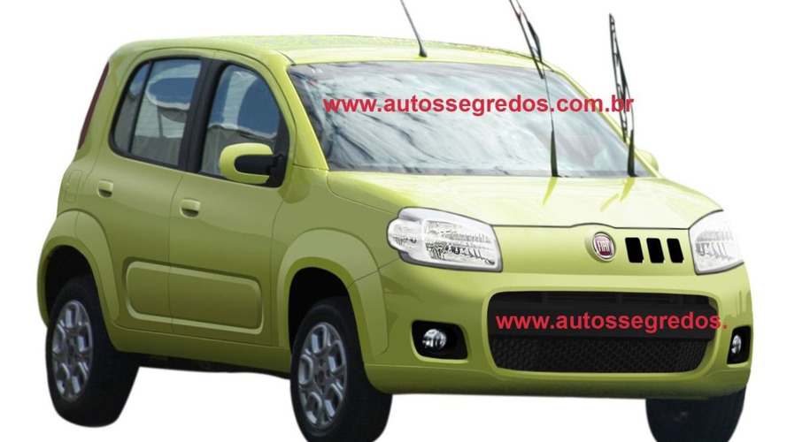 2011 Fiat Uno Revival New Spy Photo in the Clear