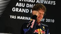 Vettel signs first sponsor after 2010 title