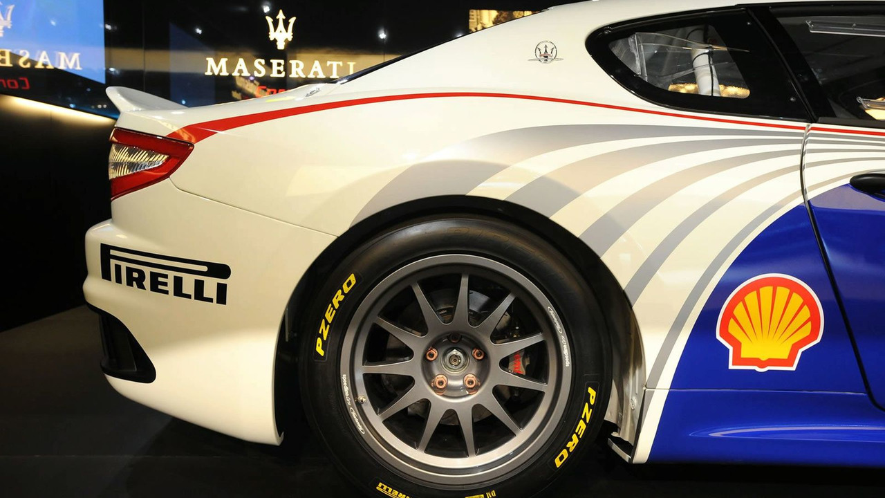Maserati GranTurismo MC Trofeo Race Car at 2009 Frankfurt Motor Show