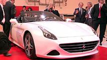 Ferrari California T world premiere media event