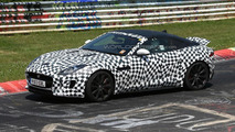 2014 Jaguar F-Type Coupe spied on the Nurburgring