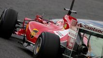 Kimi Raikkonen Ferrari F14-T 28.01.2014 Formula One Testing Jerez Spain