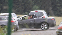 2013 Opel Astra Cabrio spied top down