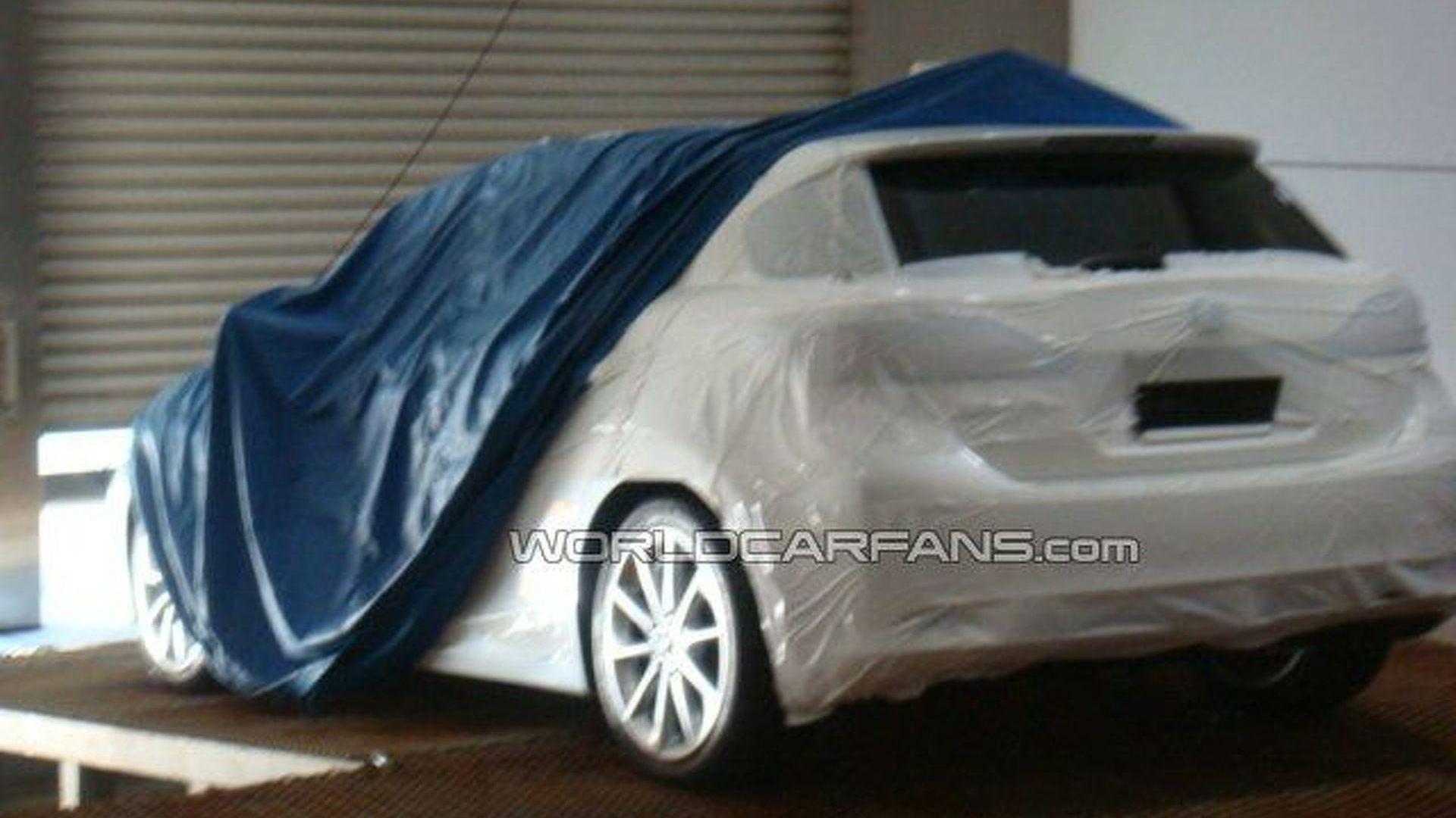 Possible Lexus LF-Ch Production Version Spied Under Wraps