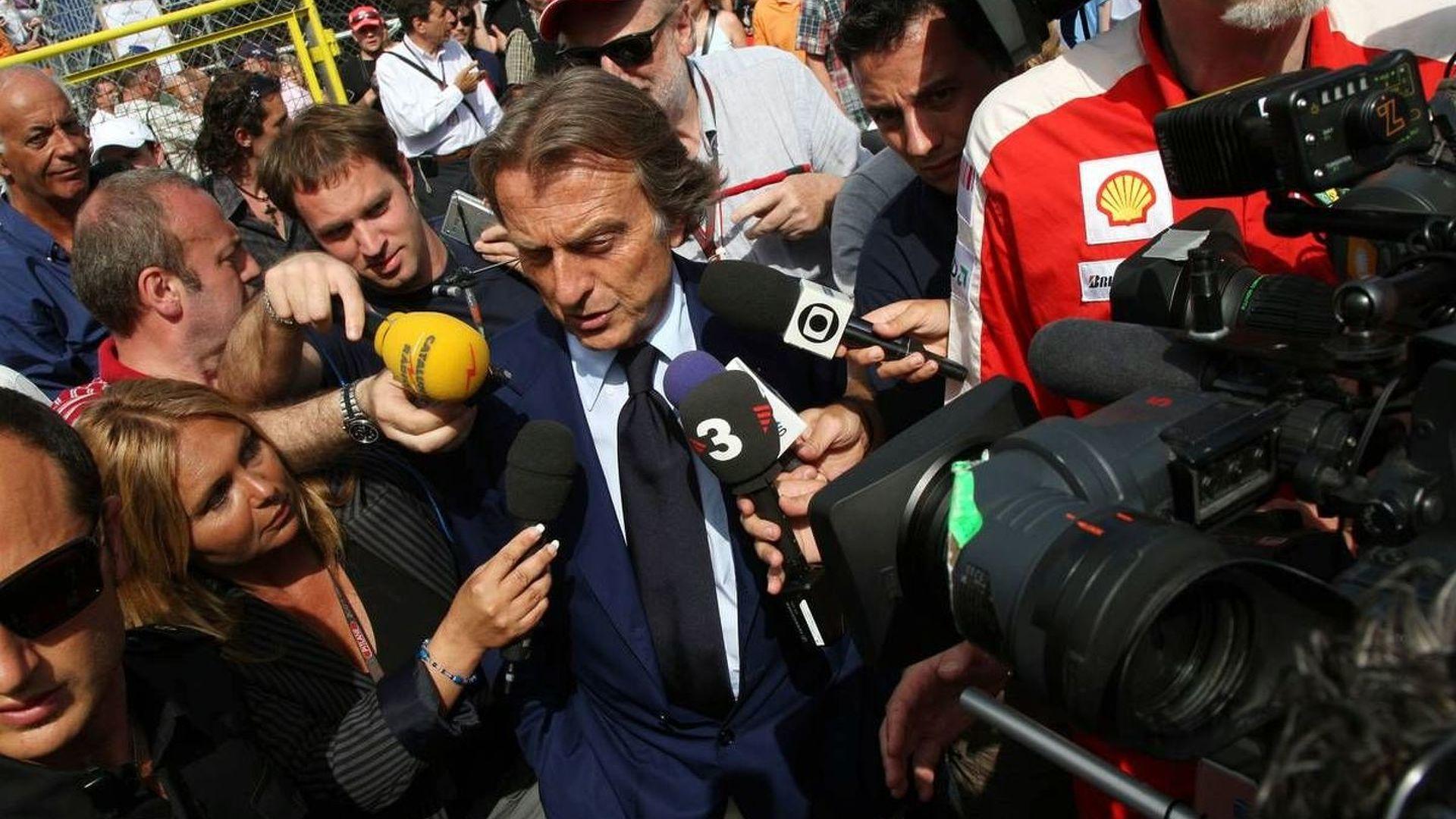 New F1 teams should be in GP2 - Montezemolo