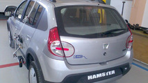 Dacia Hamster electric 4WD hybrid spy photos, 1600, 14.06.2010