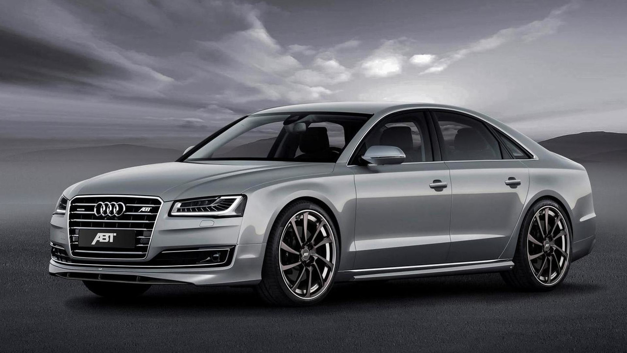 Audi A8 facelift by ABT
