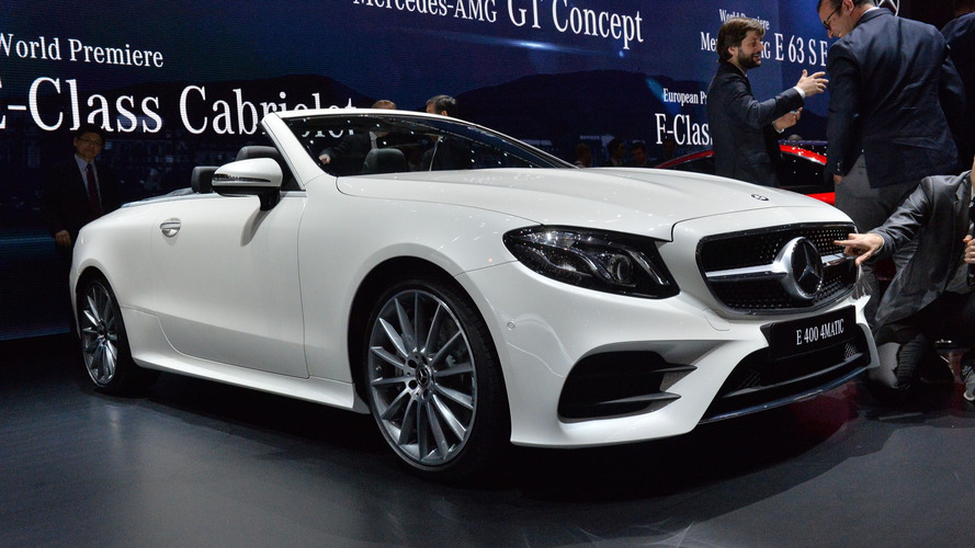 2018 Mercedes E-Class Cabriolet: Go on, take your top off