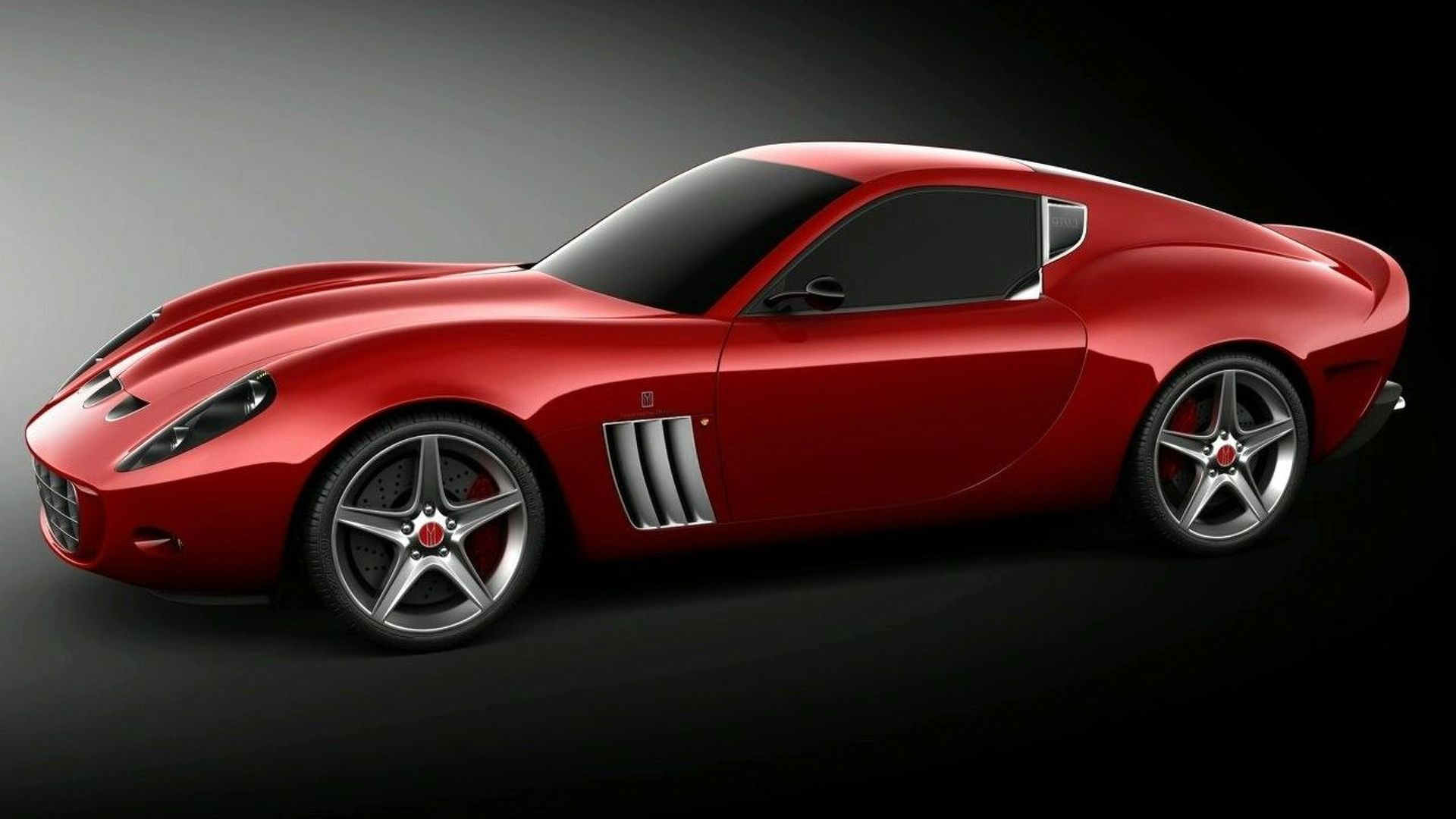 Vandenbrink GTO Revealed - Based on Ferrari 599 GTB Fiorano platform