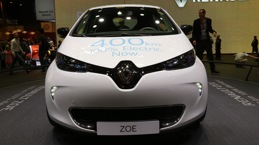 2016 Renault Zoé Z.E. 40 Paris Motor Show
