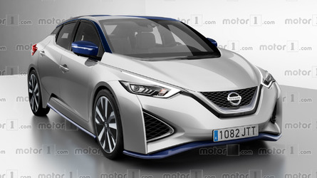 Hopefully the next Nissan Leaf will resemble this render