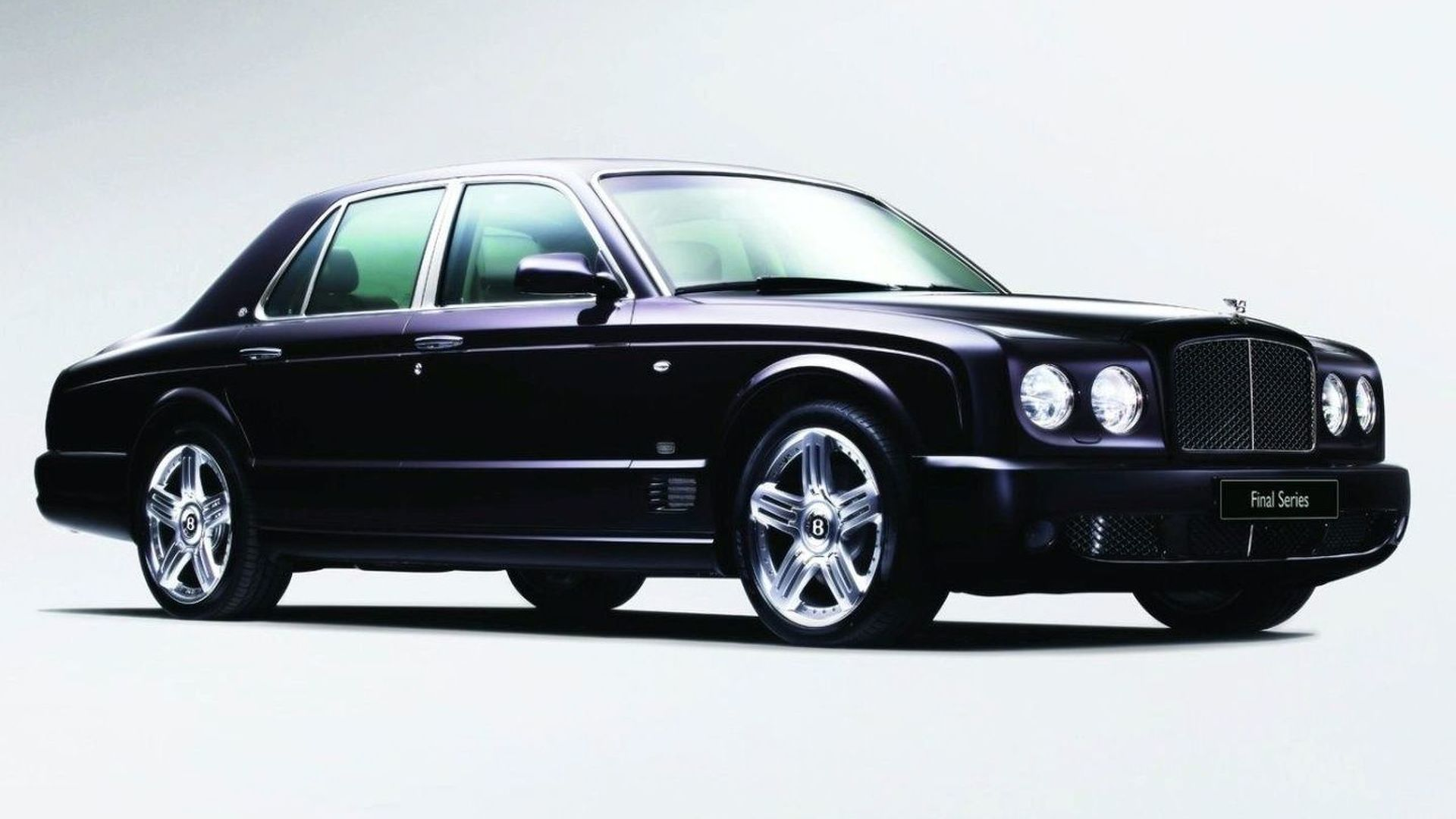 Bentley Waves Goodbye to Arnage with Final Series