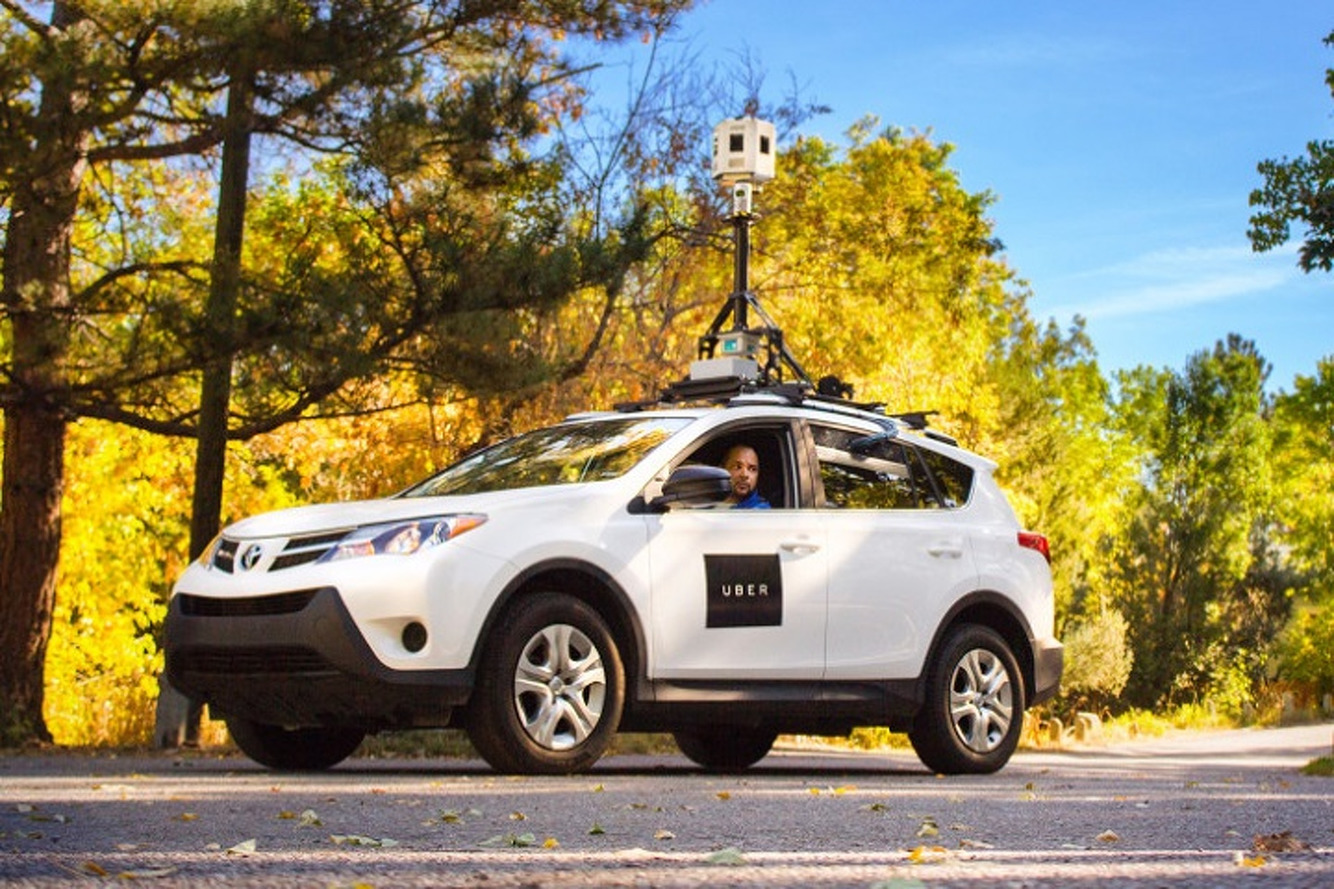 Uber Map-Making Cars Have Been on the Road for Months