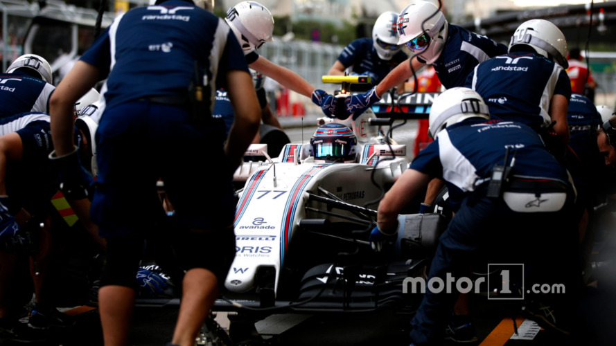 Williams equals F1 pitstop record
