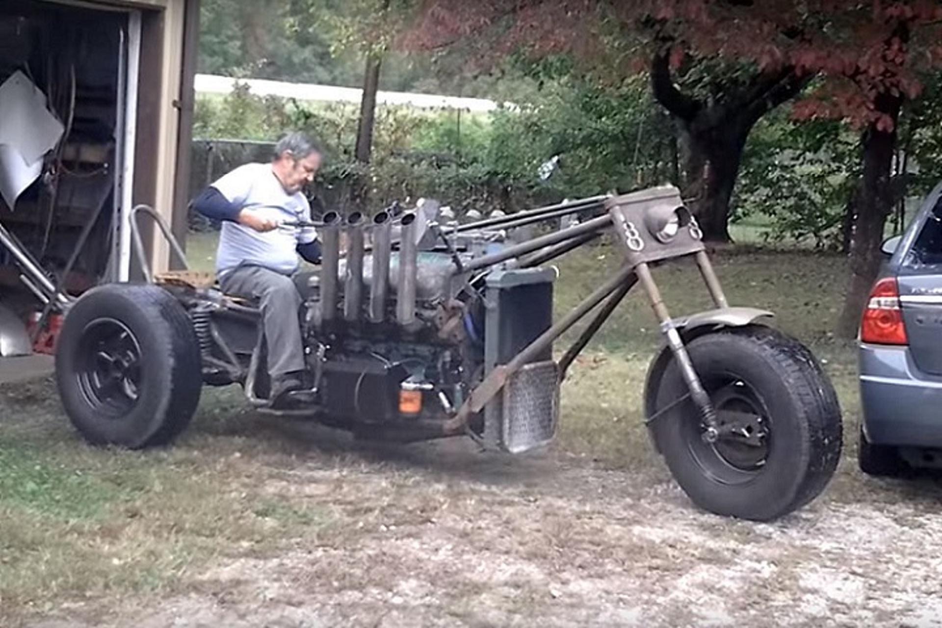 Dsytopian Custom Trike Is the Next Mad Max Machine