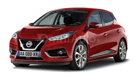 2017 Nissan Micra looks all grown up in digital exercise