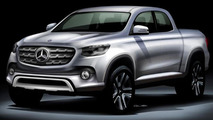Mercedes-Benz pickup truck allegedly being built by Nissan, based on Navara