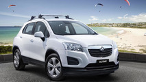 Holden Trax Active unveiled
