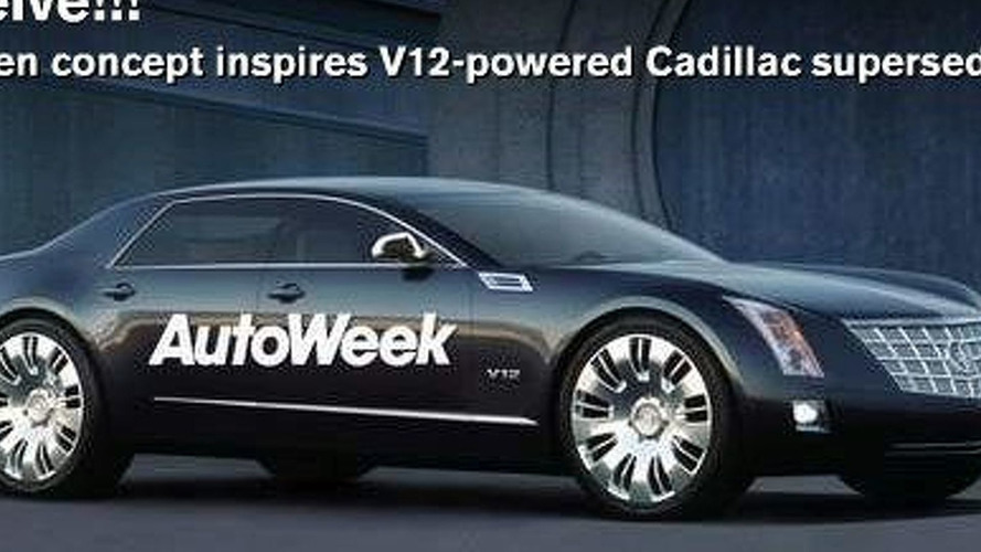 GM Might Build Cadillac V12 Super Sedan