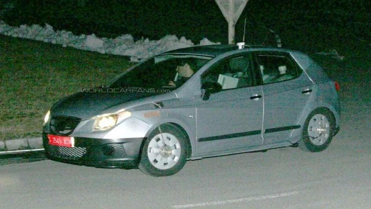 new Seat Ibiza spy photo