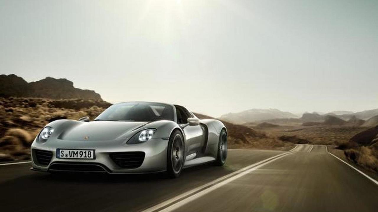 Porsche 918 Spyder prototype 01.8.2013