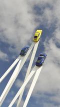 Porsche 911 sculpture at 2013 Goodwood Festival of Speed 11.7.2013