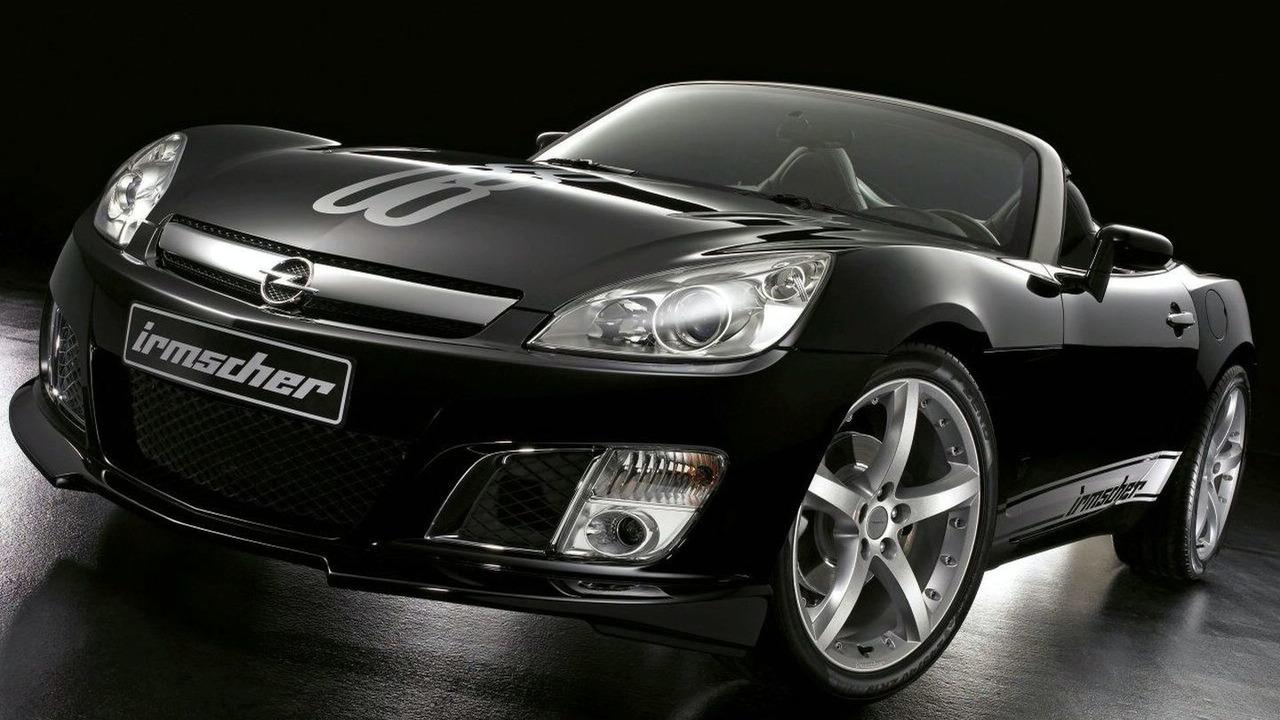 The 480 hp Irmscher Opel GT i40